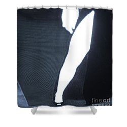 Shower Curtain featuring the photograph Angelina Jolie B B W by John King