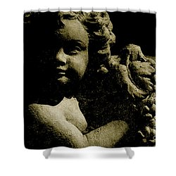 Angelina My Little Angel Shower Curtain by Susanne Van Hulst