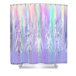 Angels Dancing Shower Curtain by Kelly Turner