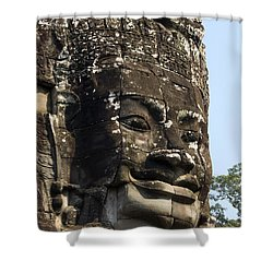 Angkor Thom Fae Shower Curtain by Gloria & Richard Maschmeyer