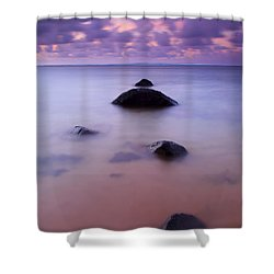 Anini Breeze Shower Curtain by Mike  Dawson