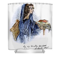 Ann Bronte (1820-1849) Shower Curtain by Granger