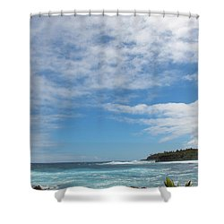 Shower Curtain featuring the photograph Another Sunny Sunday In Hawaii by Kerri Ligatich