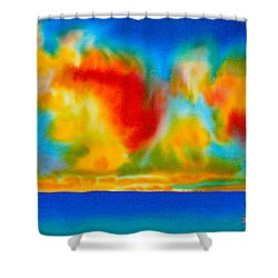 Antigua Shower Curtain by Daniel Jean-Baptiste