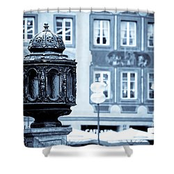Antique Design Shower Curtain by Syed Aqueel