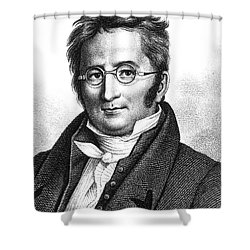 A.p. De Candolle, Swiss Botanist Shower Curtain by Science Source