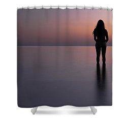 Aphrodite Shower Curtain by Stelios Kleanthous