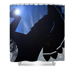 Shower Curtain featuring the photograph Apollo by Brian Duram