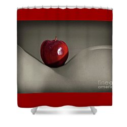 Apple Bottom Shower Curtain