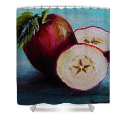 Apple Magic Shower Curtain