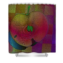 Shower Curtain featuring the photograph Apple Of My Eye by David Pantuso