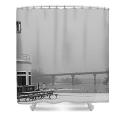 Appleton Yacht Club Shower Curtain by Joel Witmeyer