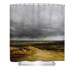 Approaching Storm Shower Curtain by Georges Michael