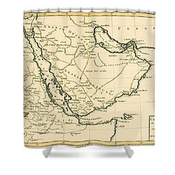 Arabia Shower Curtain by Guillaume Raynal