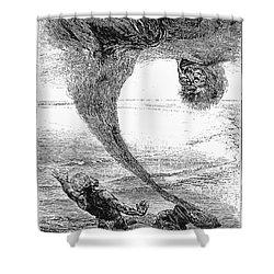 Arabian Nights, 1903 Shower Curtain by Granger