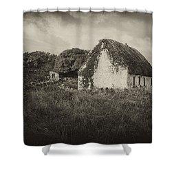 Shower Curtain featuring the photograph Aran Island Home by Hugh Smith