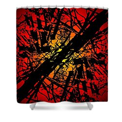 Arbor Sun Shower Curtain