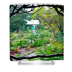 Arbor View Shower Curtain