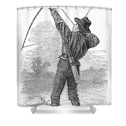 Archery, C1880s Shower Curtain by Granger
