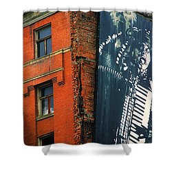 Architecture Calgary Shower Curtain by Bob Christopher