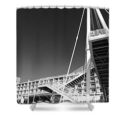 Architecture Shower Curtain by Gaspar Avila