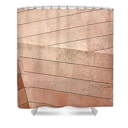 Architecture Lines Shower Curtain by Carlos Caetano