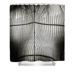 Architectures Mind Games Shower Curtain