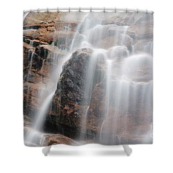 Arethusa Falls - Crawford Notch State Park New Hampshire Usa Shower Curtain by Erin Paul Donovan