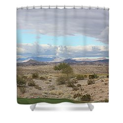 Arizona Desert View Shower Curtain