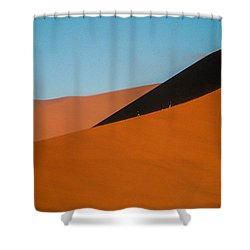 Around The Edge Shower Curtain
