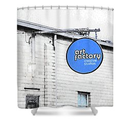 Art Factory Shower Curtain