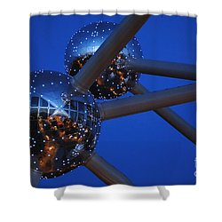 Art In Architecture 3 Shower Curtain by Bob Christopher