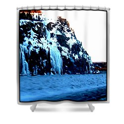 Shower Curtain featuring the photograph Artic Jewel  by Danielle  Parent
