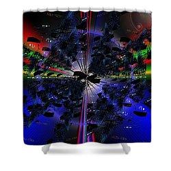 Artifacts Shower Curtain by Tim Allen