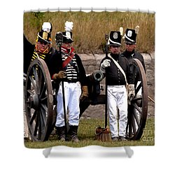 Artillery Shower Curtain