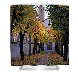 Ascona - Collegio Papio Shower Curtain by Joana Kruse