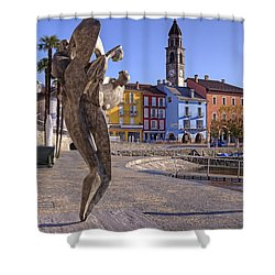 Ascona - Switzerland Shower Curtain by Joana Kruse