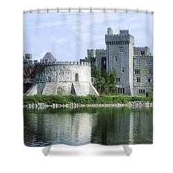 Ashford Castle, Lough Corrib, Co Mayo Shower Curtain by The Irish Image Collection