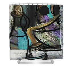 At Your Service Shower Curtain by Kelly Turner