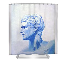 Athenian King Shower Curtain