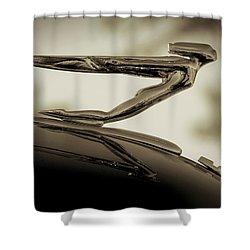 Auburn Angel Shower Curtain by Douglas Pittman
