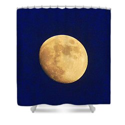 August Moon Shower Curtain by Paul  Wilford