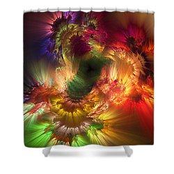 Auras Emotional Reflections Shower Curtain