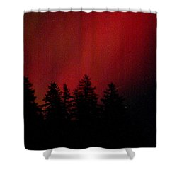 Aurora 02 Shower Curtain by Brent L Ander