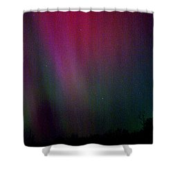 Aurora 03 Shower Curtain by Brent L Ander