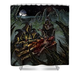 Autopsy Of The Damned  Shower Curtain