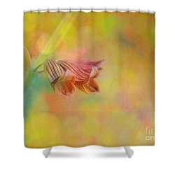 Autumn . . . Gently Shower Curtain by Judi Bagwell