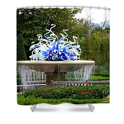Autumn In Atlanta Shower Curtain by Renee Trenholm