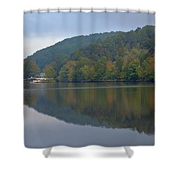 Autumn Is Approaching Shower Curtain by Karol Livote