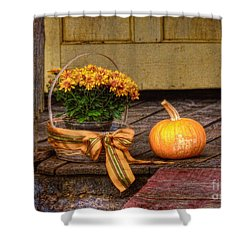 Autumn Shower Curtain by Lois Bryan
